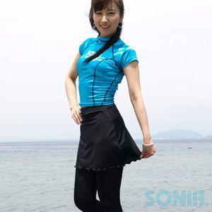 SONIA(ソニア) 【フェイサー】 スカート付きロングパンツ sonia