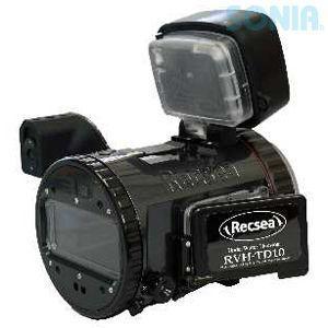 Recsea(レクシー) Seatool 【RVH-TD10 PRO Type】 SONY TD10用防水ハウジング 樹脂グリップ仕様 PROタイプ|sonia