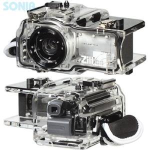 Zillion(ジリオン) SONY DCR-SR100用 水中ハウジング|sonia