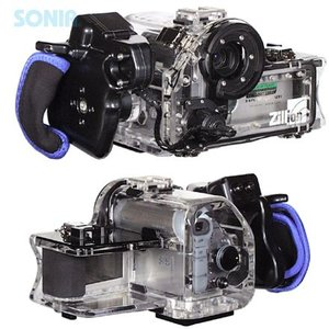 Zillion(ジリオン) SONY DCR-HC90用 水中ハウジング|sonia