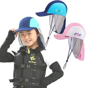 ReefTourer(リーフツアラー) RA5006 RA-5006 ジュニアUVキャップ(子ども用日除け帽子)|sonia