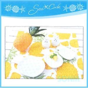 Sea Code(シーコード) 0809549 SC Pineapple Salt&Pepper Container Set ソルト&ペッパーコンテナーセット|sonia