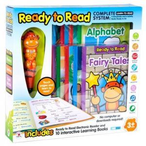 電子おもちゃ Ready to Read Electronic Reader and 10 Interactive Learning Books|sonicmarin