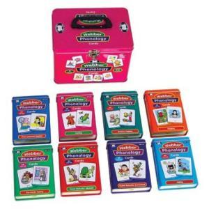 電子おもちゃ Set of 8 Webber Illustrated Phonology Cards Fun Decks - Super Duper Educational Learning Toy for Kids|sonicmarin