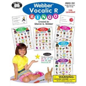 電子おもちゃ Webber Vocalic R Bingo - Super Duper Educational Learning Toy for Kids|sonicmarin