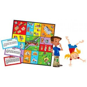 電子おもちゃ What Do You Say... What Do You Do... in the Community? Social Skills Board Game - Super Duper Educational Learning Toy for Kids|sonicmarin