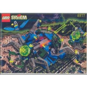 レゴ Lego Insectoids 6977 Arachnoid Star Base|sonicmarin