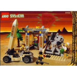 レゴ LEGO Adventurers Series - Mummy's Tomb (5958)|sonicmarin