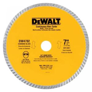 デウォルト DEWALT DW4704 Industrial 12-Inch Dry Cutting Continuous Rim Diamond Saw Blade with 1-Inch Arbor sonicmarin