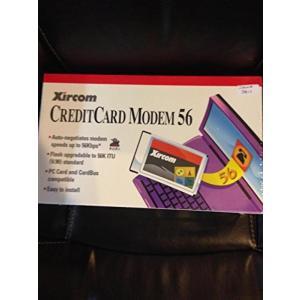 モデム Xircom Creditcard Laptop Modem 56K PCMCIA Modem with RJ-11 Connector Cable|sonicmarin