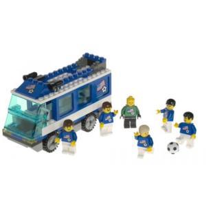 レゴ Lego 3406 Soccer Team Transport Bus|sonicmarin