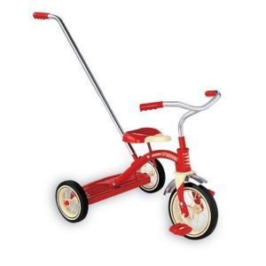 乗り物おもちゃ Radio Flyer Classic Red Tricycle with Push Handle|sonicmarin