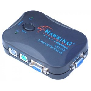 外付け機器 Hawking Technology CS152F 2-Port KVM Switch with Cable|sonicmarin