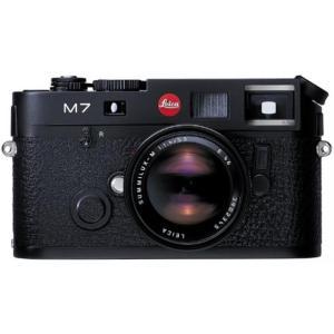 ライカ カメラ Leica M7 Rangefinder 35mm Camera w .58x Viewfinder, Black (Model 10503)|sonicmarin