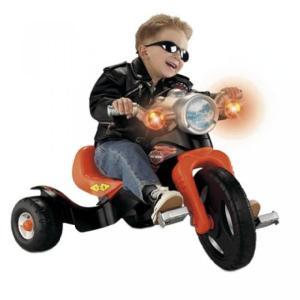 乗り物おもちゃ Harley Davidson Lights and Sounds Trike|sonicmarin