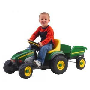 乗り物おもちゃ Peg Perego John Deere Farm Tractor & Trailer|sonicmarin