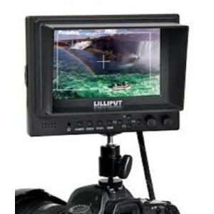 モニタ Lilliput 569gl-50nphoy 5-inch On-camera Hd LCD Field Monitor w Hdmi in Hdmi Out Component in Video in Video Out+hot Shoe Mount+du21 sonicmarin