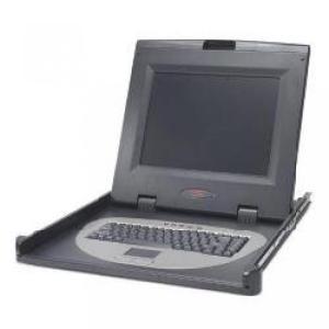 モニタ APC Rackmount Keyboard Monitor Mouse flat panel display - TFT - 15