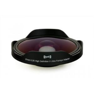 アクションカメラ Opteka OPT-SC37FE Platinum Series 0.3X HD Ultra Fisheye Lens for 25mm, 30mm, 30.5mm & 37mm Digital Video Camcorders|sonicmarin