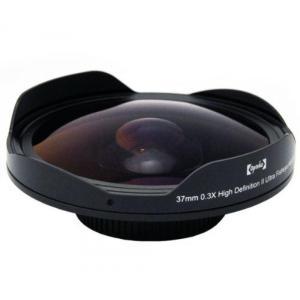 アクションカメラ Opteka Platinum Series 0.3X HD Ultra Fisheye Lens for Panasonic AG-EZ50, HDC-HS100, HS9, SD100, SD5, SD9, SX5, NV-GS120, GS180,|sonicmarin