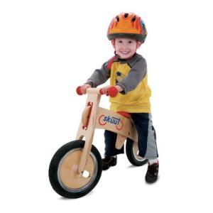 バランススクーター Diggin Active Skuut Wooden Balance Bike (Red) sonicmarin