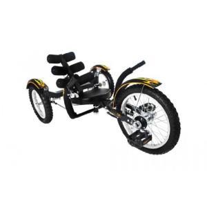 バランススクーター Mobo Cruiser Mobito Ultimate Three Wheeled Cruiser, Black, 16-Inch sonicmarin