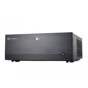 SSD ソリッドステート Silverstone Tek GD07B Aluminum Extended ATX  SSI-EEB  SSI-CEB HTPC Computer Case with Lockable Front Door Cases - Black|sonicmarin