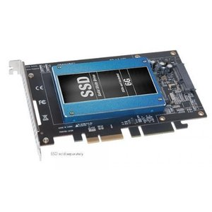 SSD ソリッドステート Sonnet Technologies Tempo 6Gbs SATA PCIe 2.0 Drive Card for Solid State Drives (TSATA6-SSD-E2)|sonicmarin