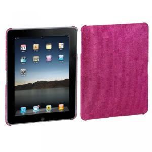 SIMフリー タブレット 端末 Hard Plastic Snap on Cover Fits Apple iPad Hot Pink Full DiamondRhinestone|sonicmarin