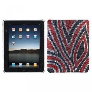 SIMフリー タブレット 端末 Hard Plastic Snap on Cover Fits Apple iPad Jungle Fever Full DiamondRhinestone Back|sonicmarin