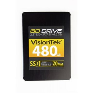 SSD ソリッドステート VisionTek GoDrive 7MM SSD High Performance SATA III 6.0Bbs 2.5-Inch Solid State Drive|sonicmarin