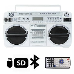High Performance Bluetooth Stereo Boombox, Support...