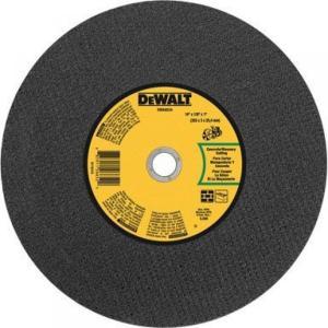 7//8-Inch Arbor DEWALT DW8477 9-Inch by 1//4-Inch T27 High Performance Aluminum Grinding Wheel
