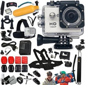 Includes a KoolCam AC200 Waterproof ACTION Camera ...