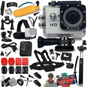Includes a KoolCam AC100 Waterproof ACTION Camera ...