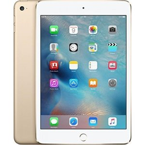 SIMフリー タブレット 端末 Apple iPad mini 4 64GB Factory Unlocked Gold (Wi-Fi + Cellular 4G LTE, Apple SIM) Newest Version|sonicmarin