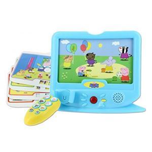 電子おもちゃ Pink Peppa Pig Little TV For Kids! 24+ Mont...