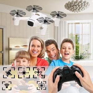 ドローン Happycat White Plastic 4CH 2.4GHz RC X4 720P Camera Plus H107C+ 360 Rotation Quadcopter With Remote Control (Black)|sonicmarin