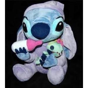 幼児用おもちゃ Disney Lilo and Stitch Baby Stitch holding...