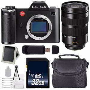 ライカ カメラ Leica SL (Typ 601) Mirrorless Digital Camera (International Version) No Warranty + Leica Vario-Elmarit-SL 24-90mm f2.8-4 ASPH. Lens +|sonicmarin