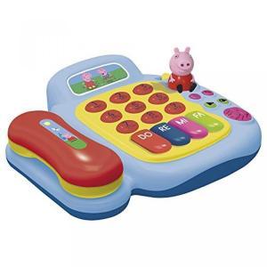 電子おもちゃ Pink Peppa Pig Piano Phone Telephone