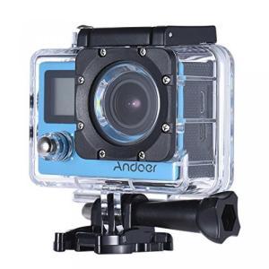 アクションカメラ Andoer 2.0in LCD WiFi 4K Waterproof Sport...