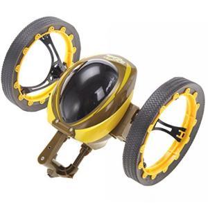 ロボット AMPERSAND SHOPS RC Yellow Jumping Sumo Car Gy...
