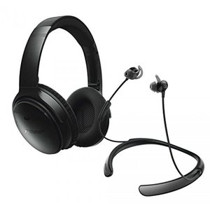 You get two great headphones from Bose... the Quie...