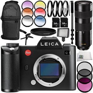 ライカ カメラ Leica SL (Typ 601) Mirrorless Digital Camera with Leica APO-Vario-Elmarit-SL 90-280mm f2.8-4 Lens 13PC Accessory Bundle ? Includes 3|sonicmarin
