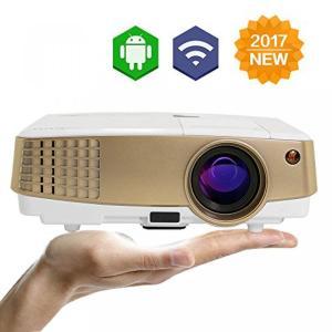 ゲーミングPC EUG Mini Portable Wireless LED Video Proje...