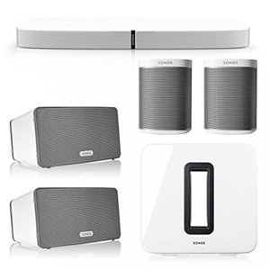 This Bundle Includes 6 items from Sonos: (1) PLAYB...