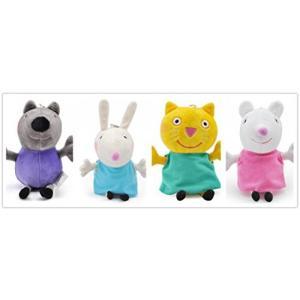 """幼児用おもちゃ Love Peppa Pig Best Friends Plush Toy 7.5""""..."""