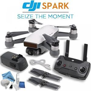 ドローン DJI Spark Quadcopter & Remote Controller Comb...