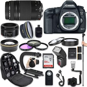 This Canon Camera Bundle Kit comes complete with a...